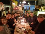 Gathering in Seoul for Jocellin's birthday first night